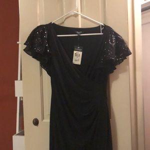 Black Ralph Lauren evening gown